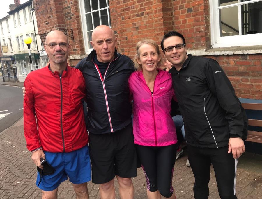 The MBUK runners